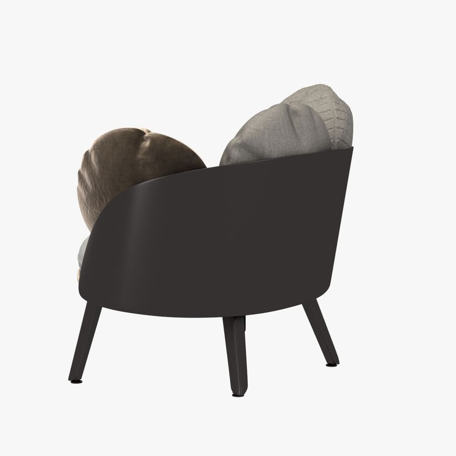 Nubilo Stuhl von Petite Furniture royalty-free 3d model - Preview no. 7