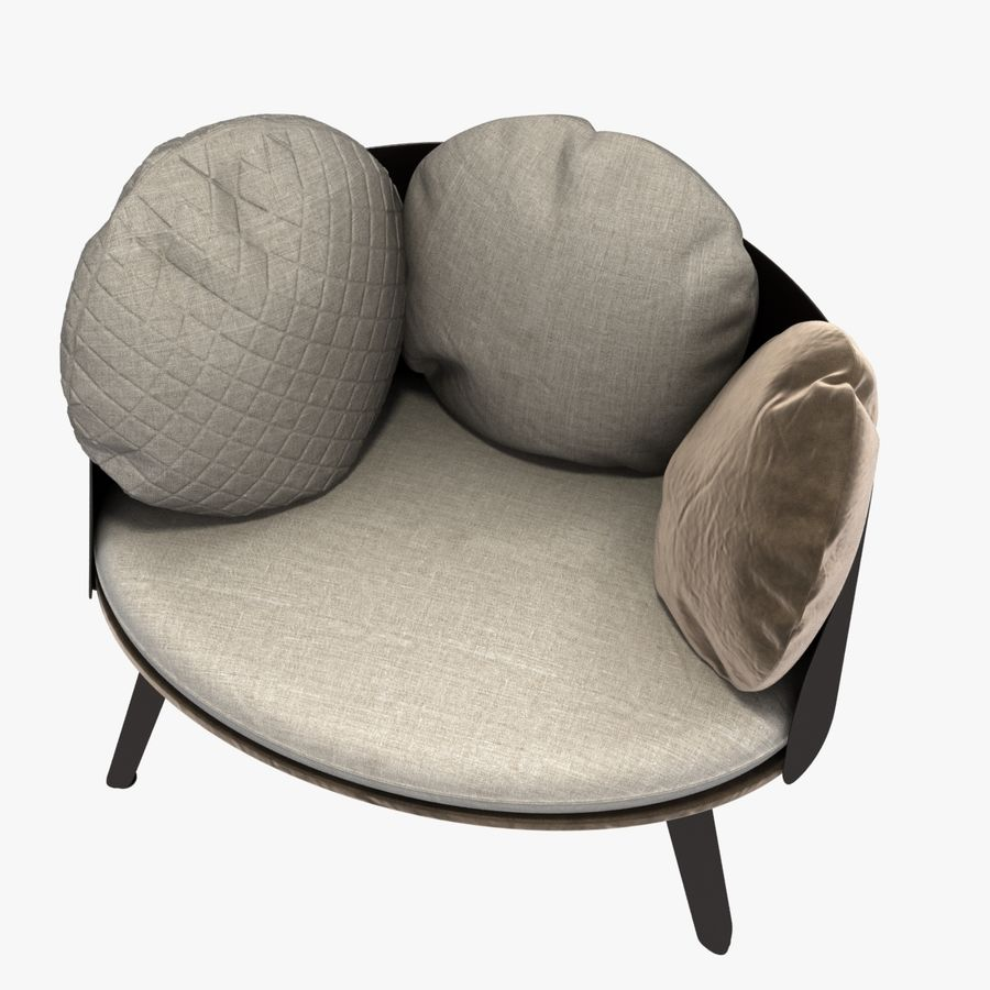 Nubilo Stuhl von Petite Furniture royalty-free 3d model - Preview no. 9