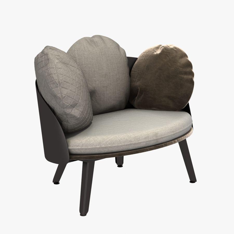 Nubilo Stuhl von Petite Furniture royalty-free 3d model - Preview no. 1