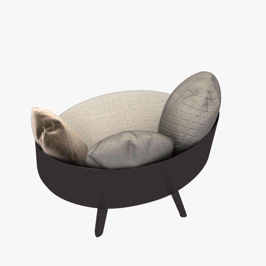 Nubilo Stuhl von Petite Furniture royalty-free 3d model - Preview no. 5