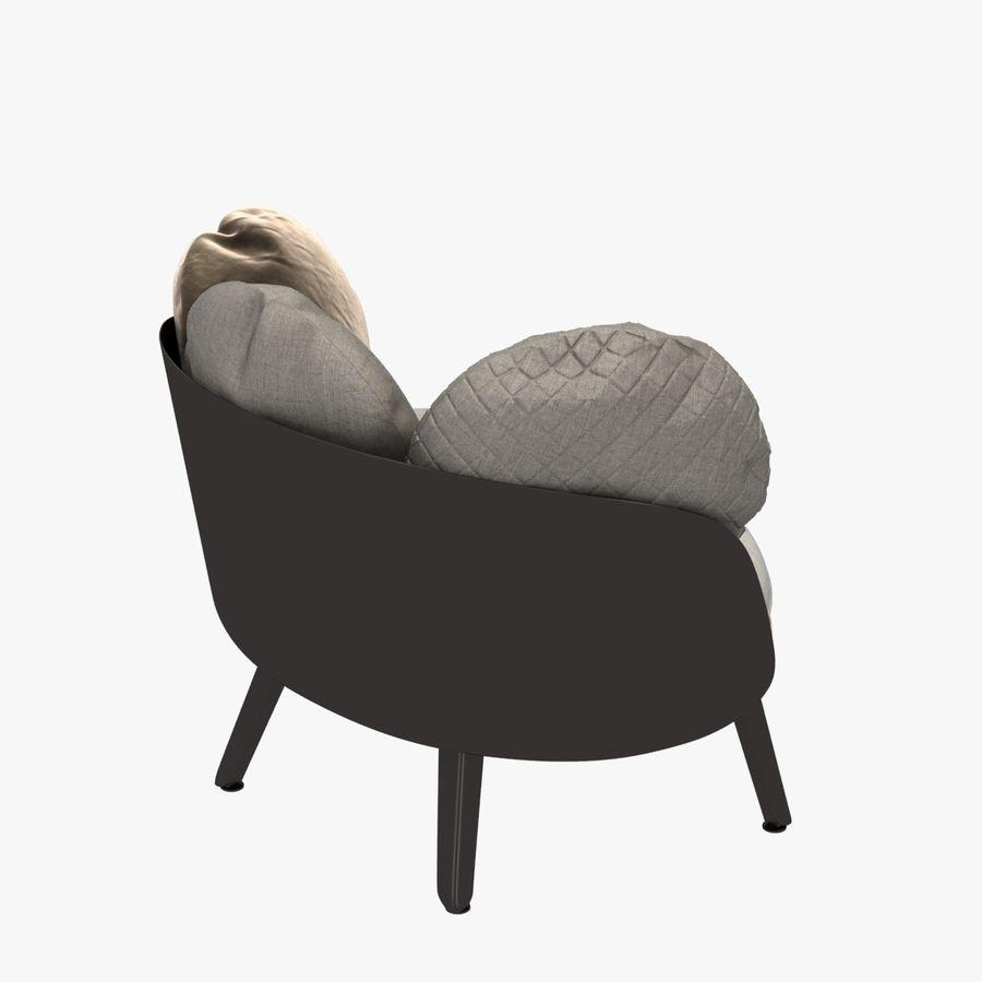 Nubilo Stuhl von Petite Furniture royalty-free 3d model - Preview no. 4