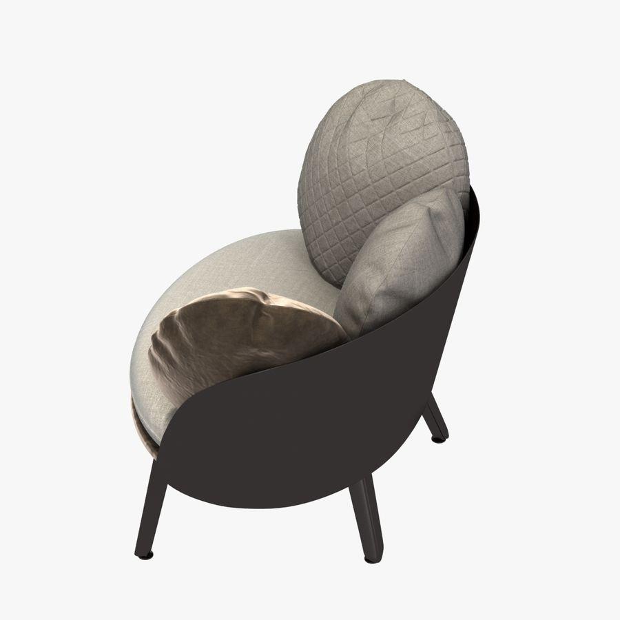 Nubilo Stuhl von Petite Furniture royalty-free 3d model - Preview no. 6
