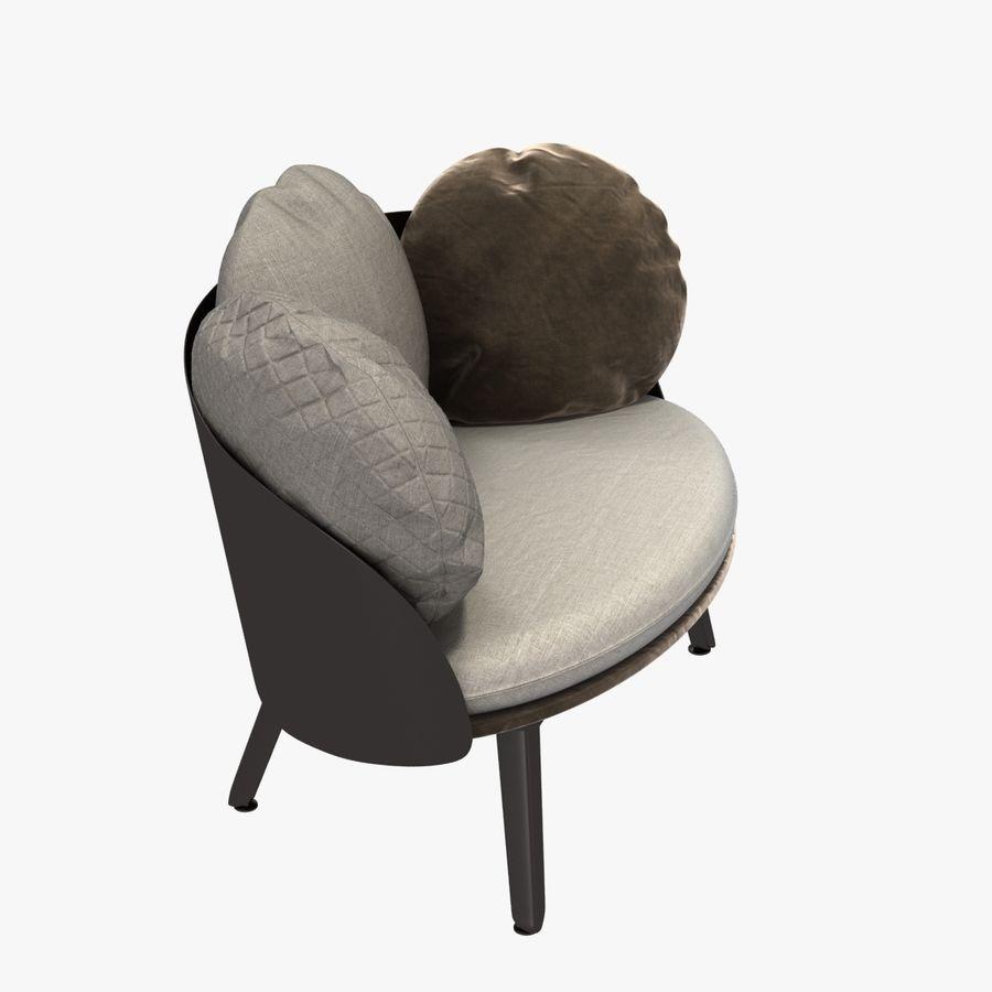Nubilo Stuhl von Petite Furniture royalty-free 3d model - Preview no. 3