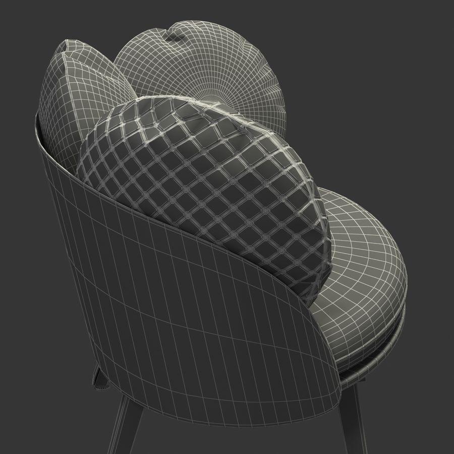 Nubilo Stuhl von Petite Furniture royalty-free 3d model - Preview no. 12