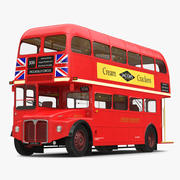 Routemaster de bus de Londres 3d model