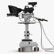 TV Stüdyo Kamera Genel 3d model