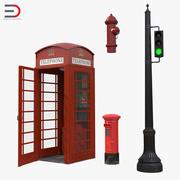 Sammlung der Londoner Elemente 3d model