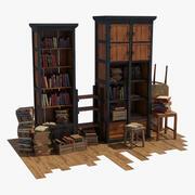 Wyświetlanie książki 3d model
