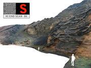 Acantilados del océano 8K modelo 3d