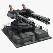 Ray tabancası 3d model