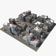 RT Shops B 3d model