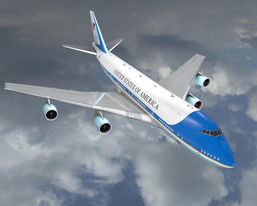 Aircraft royalty-free 3d model - Preview no. 1
