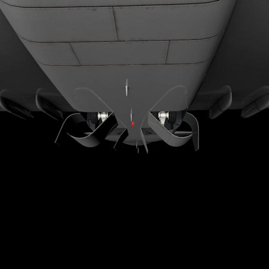 Aircraft royalty-free 3d model - Preview no. 21