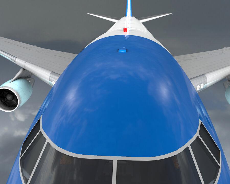 Aircraft royalty-free 3d model - Preview no. 12