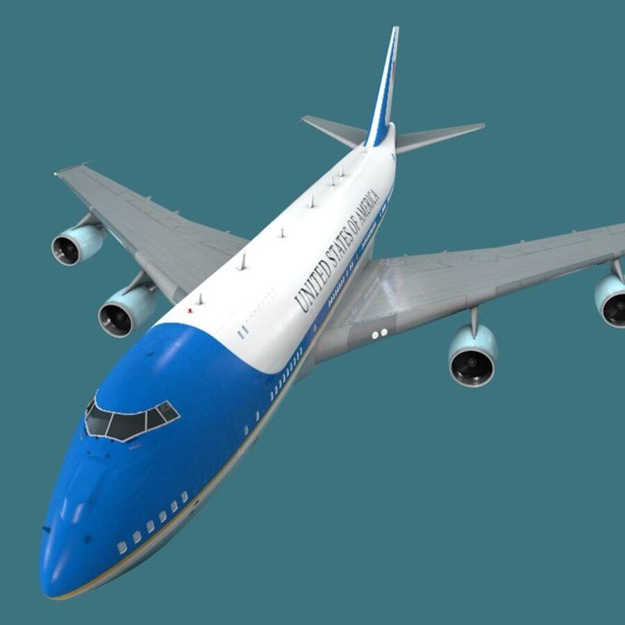 Aircraft royalty-free 3d model - Preview no. 26