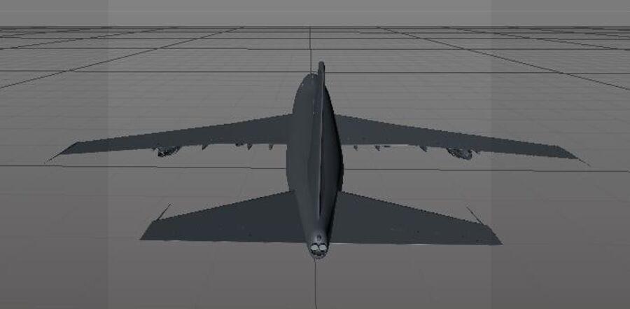Aircraft royalty-free 3d model - Preview no. 27