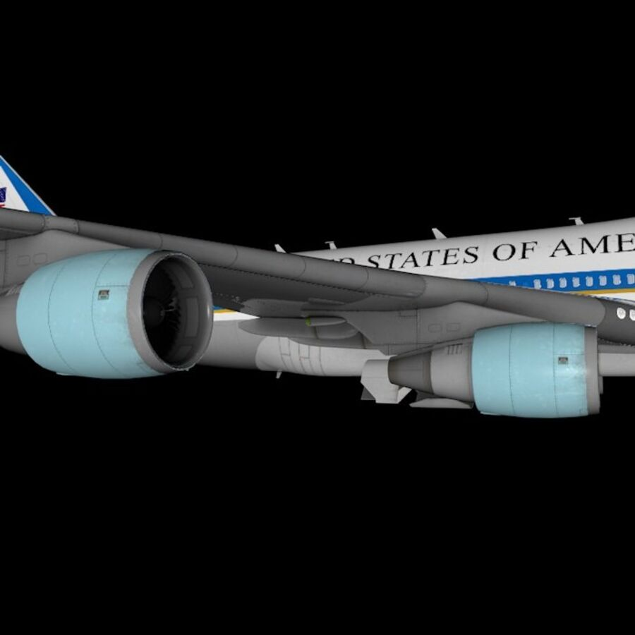 Aircraft royalty-free 3d model - Preview no. 25
