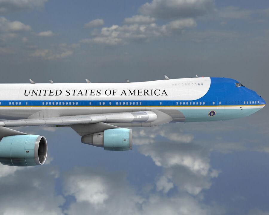 Aircraft royalty-free 3d model - Preview no. 11