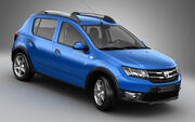 Dacia Sandero Stepway 2013 3d model