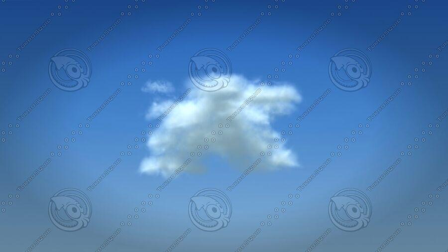 구름 royalty-free 3d model - Preview no. 2