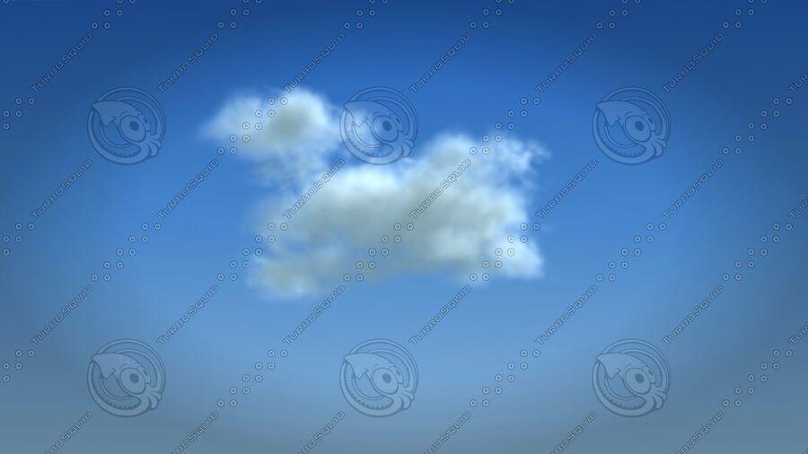구름 royalty-free 3d model - Preview no. 4