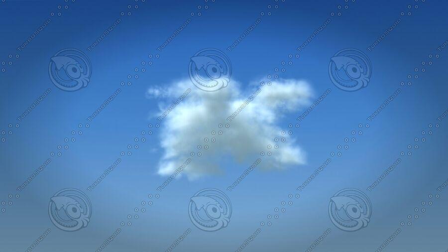 구름 royalty-free 3d model - Preview no. 1