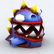 3DRT - Crazy MIcromonsters 3d model