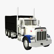 Peterbilt 378 Dump Truck 3d model