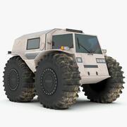 Rusça Sherp ATV 3d model