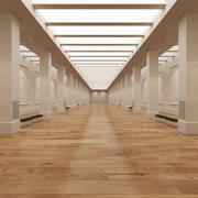 Galeria de Arte 3d model