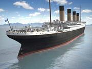 Navio de cruzeiro RMS Titanic 3d model