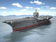 USS Enterprise CVN-65 Carrier 1 3d model