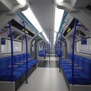 Métro de Londres 3d model