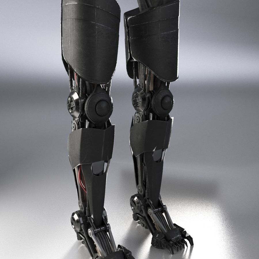 로봇 다리 royalty-free 3d model - Preview no. 2