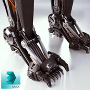 로봇 다리 3d model