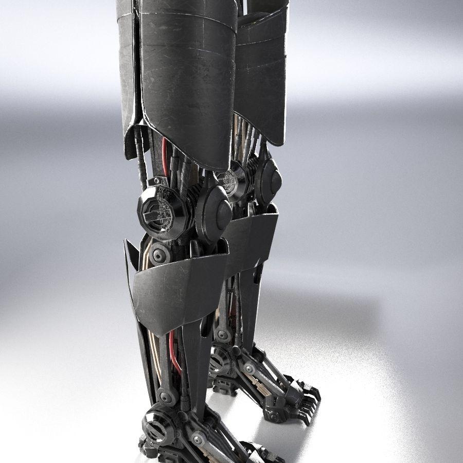 로봇 다리 royalty-free 3d model - Preview no. 6