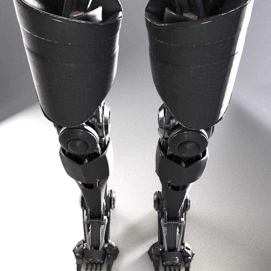 로봇 다리 royalty-free 3d model - Preview no. 10