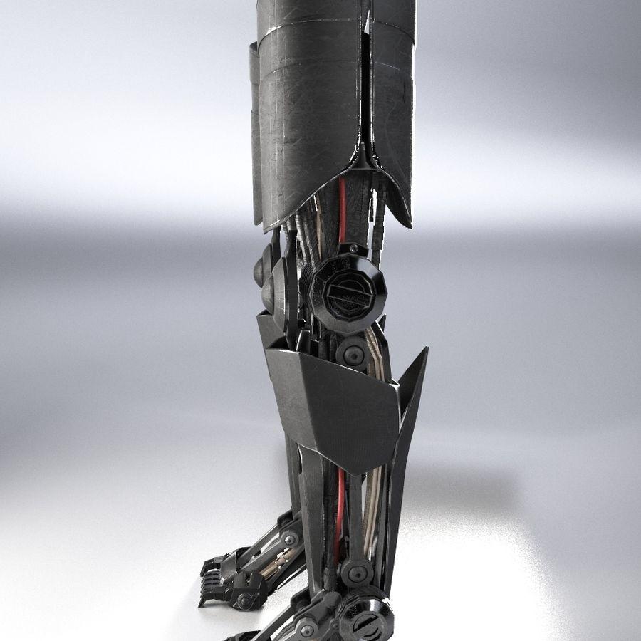 로봇 다리 royalty-free 3d model - Preview no. 3