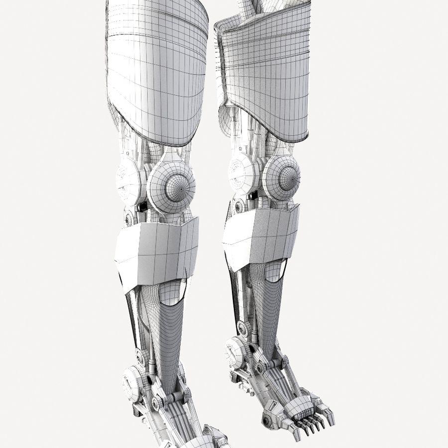 로봇 다리 royalty-free 3d model - Preview no. 11
