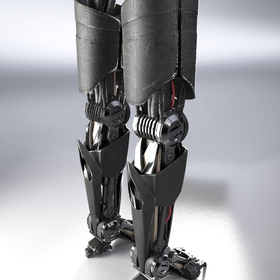 로봇 다리 royalty-free 3d model - Preview no. 5
