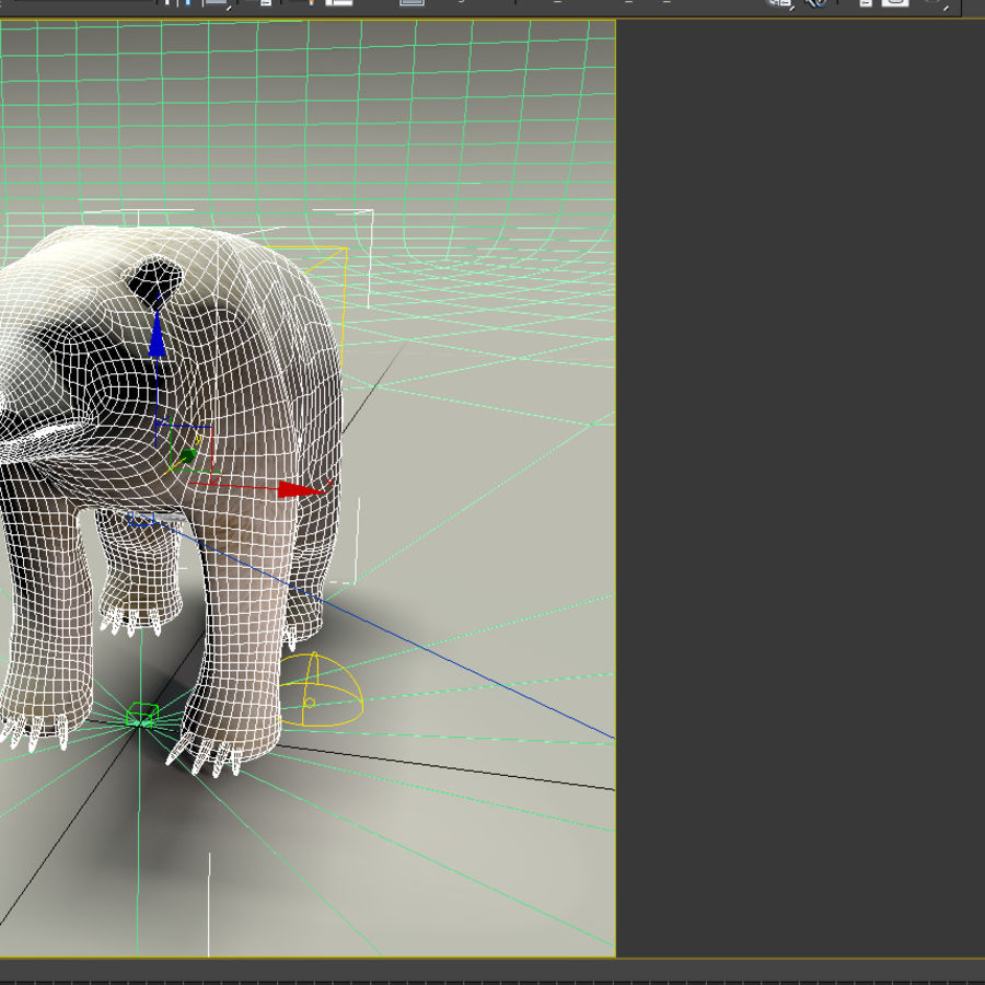 Niedźwiedź polarny royalty-free 3d model - Preview no. 6