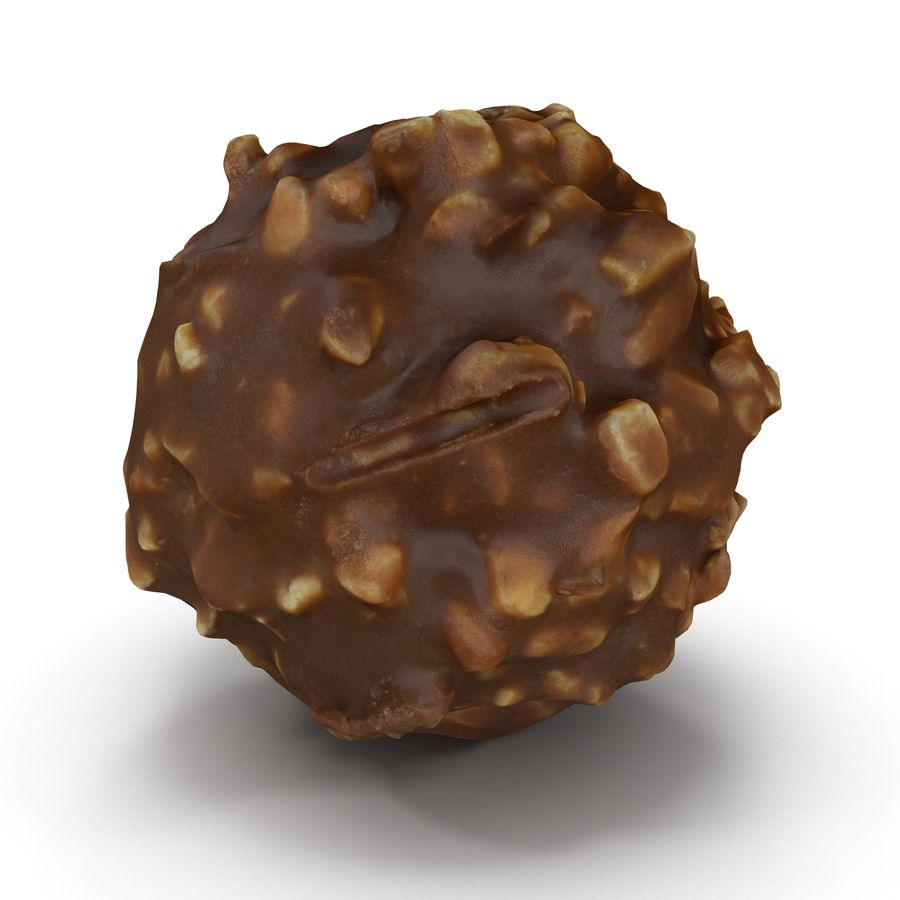 Ferrero Rocher royalty-free 3d model - Preview no. 5