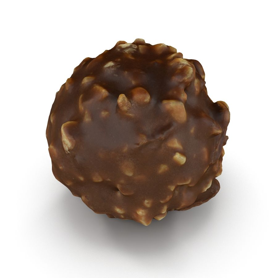 Ferrero Rocher royalty-free 3d model - Preview no. 4