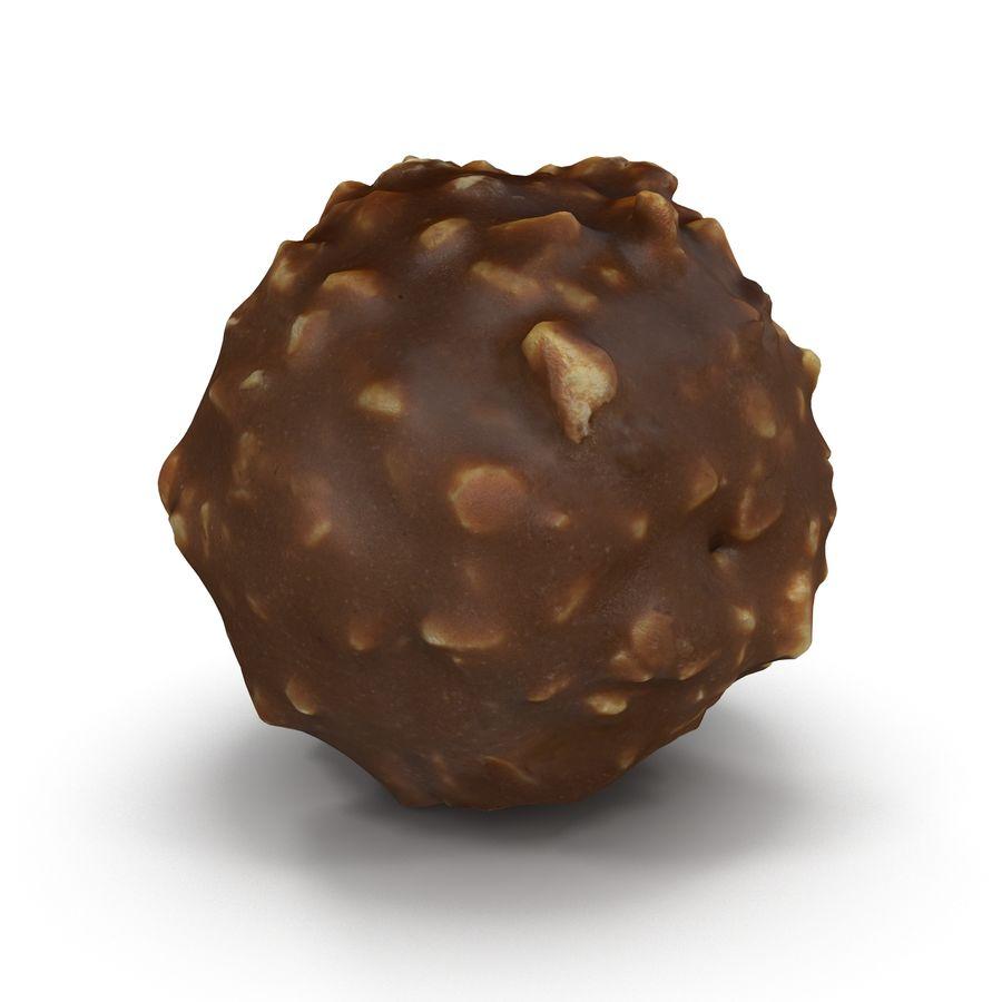 Ferrero Rocher royalty-free 3d model - Preview no. 3