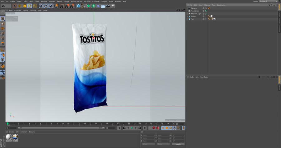 Упаковка для еды royalty-free 3d model - Preview no. 6