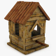 Gamla fågelhuset 6 3d model