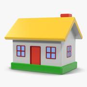 Дом игрушек 3d model