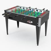 College Foosball Table by Roberto Sport 3d model
