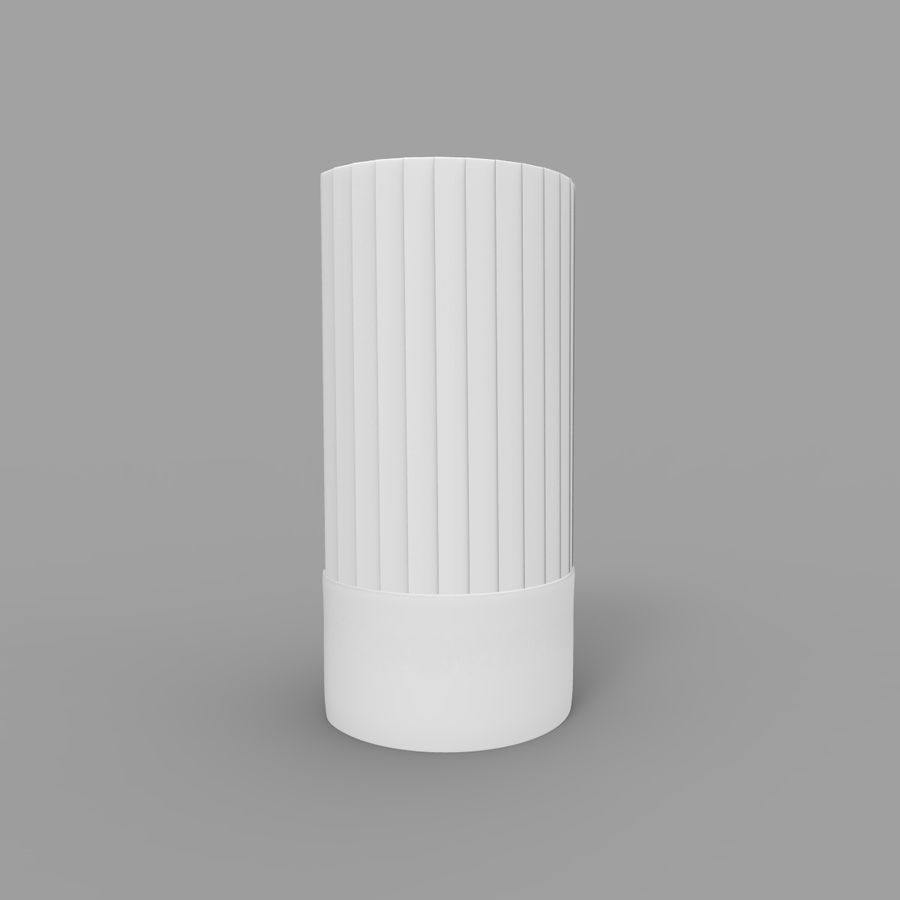 Kockmössa royalty-free 3d model - Preview no. 2
