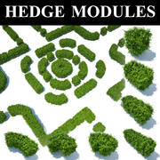 hedge modules 3d model